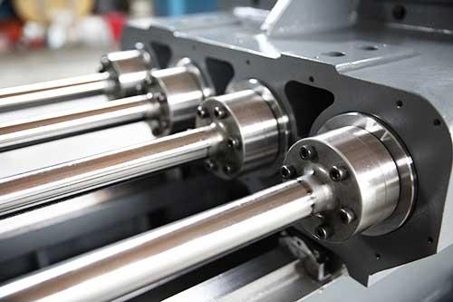 multi spindles gundrilling machine