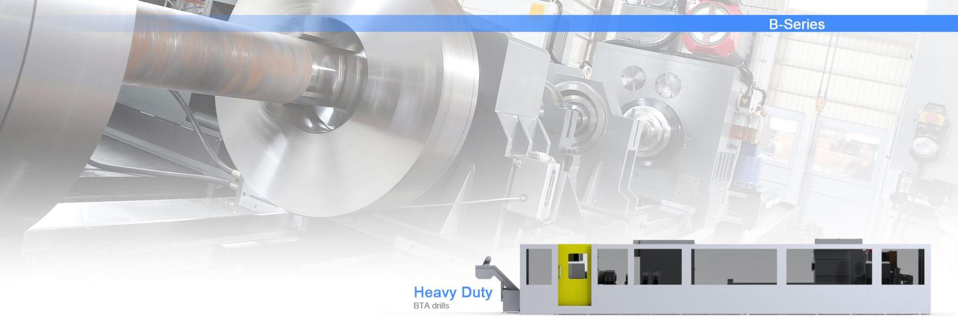 BTA drilling machine